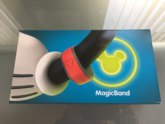 This is how Disney mails out their MagicBands.
